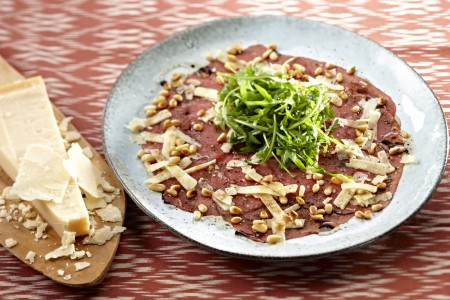 Carpaccio filet